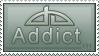 dA Addict Stamp