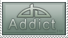 dA Addict Stamp by jugga-lizzle