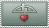 dA Love Stamp.