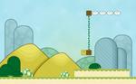 Bit Player Terrain. by jugga-lizzle