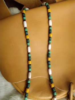 Arrowhead/ Spear necklace 1800's Regalia, mine.