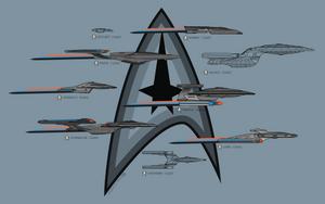 Starships by jugga-lizzle