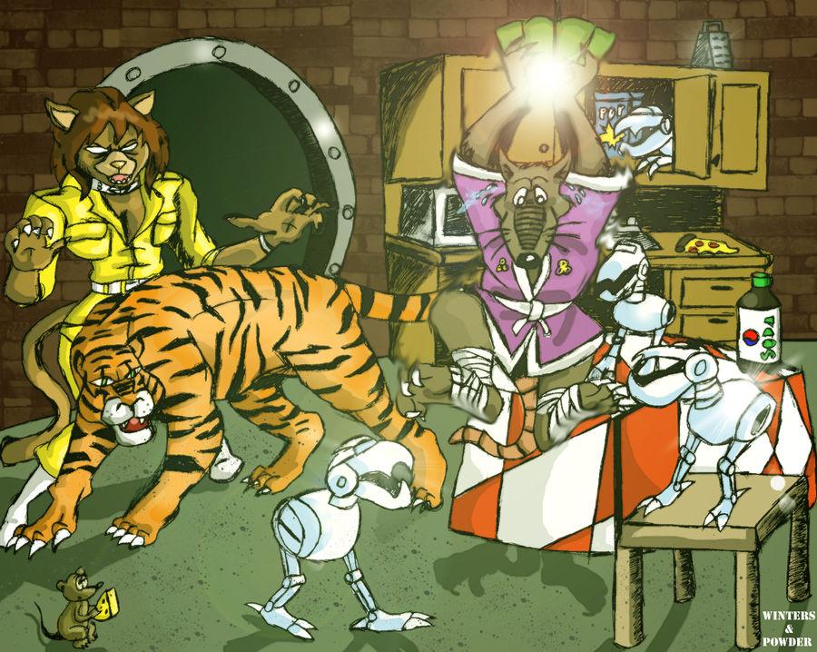 Splinter's Nightmare (Color version)