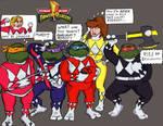 Teenage Mutant Power Rangers