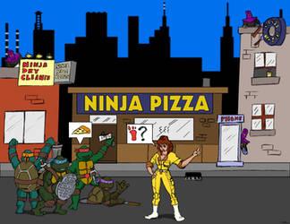 You Guys Eat Ninja Pizza? by oldmanwinters
