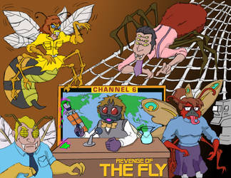 Revenge of the Fly (aka, Baxter's Best Day Ever) by oldmanwinters