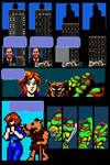 Video Game Tribute Comic (Mirage TMNT v.1 #2)