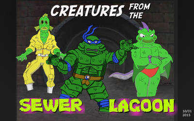 Creatures from the Sewer Lagoon