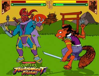 Ninjara Vs. the Ultimate Ninja (Pick the Winner!) by oldmanwinters