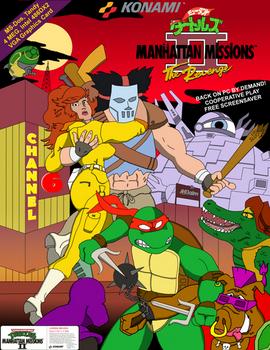 TMNT Manhattan Missions II: The Revenge