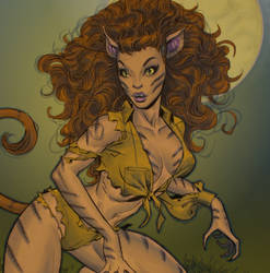 April O'Neil, Cat Mutant: The Inside Story by oldmanwinters