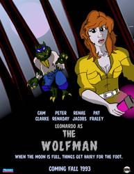 Leonardo as The Wolfman