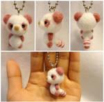Needle Felt: Pink Lesser Panda