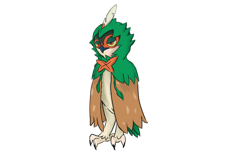 Decidueye by TheHackingRotom