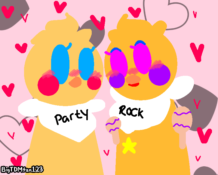 Contest entery- Rockstar Chica x Toy Chica by BigTDMFan123