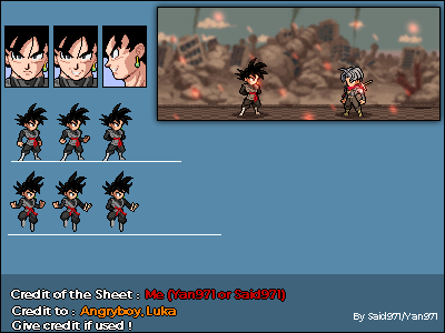 LSW - Black Goku, Mysterious Warriors by Said971
