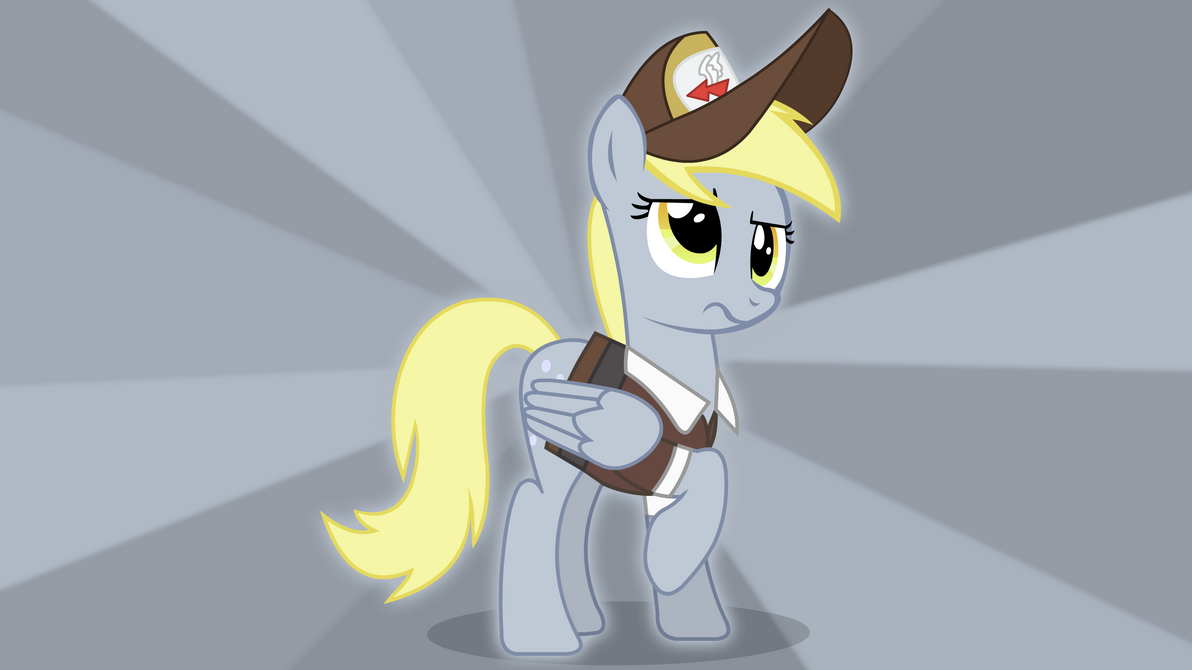 Derpy Deliver Confused by YoshiGreenwater