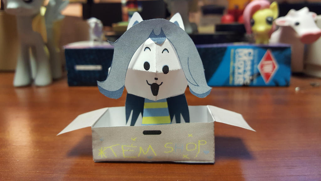 Tem Shop Papercraft by YoshiGreenwater
