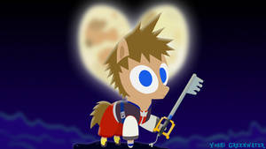 Sora Kingdom Hearts as a pony by YoshiGreenwater