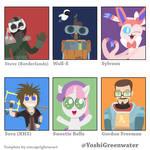 Yoshi Greenwater's Six Fanart Challenge