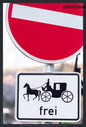 Free for horse-drawn carriages
