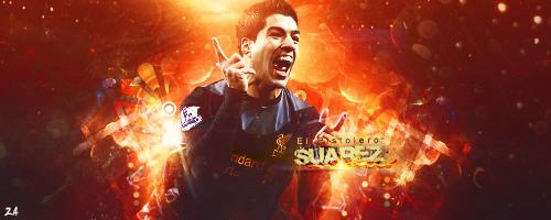 Luis Suarez by ZA17