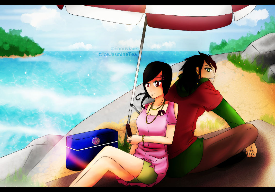 PN -Collabs : Piknik Di Pantai Ya? by IceJasmineTea