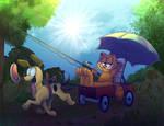 Garfield by jelllybears