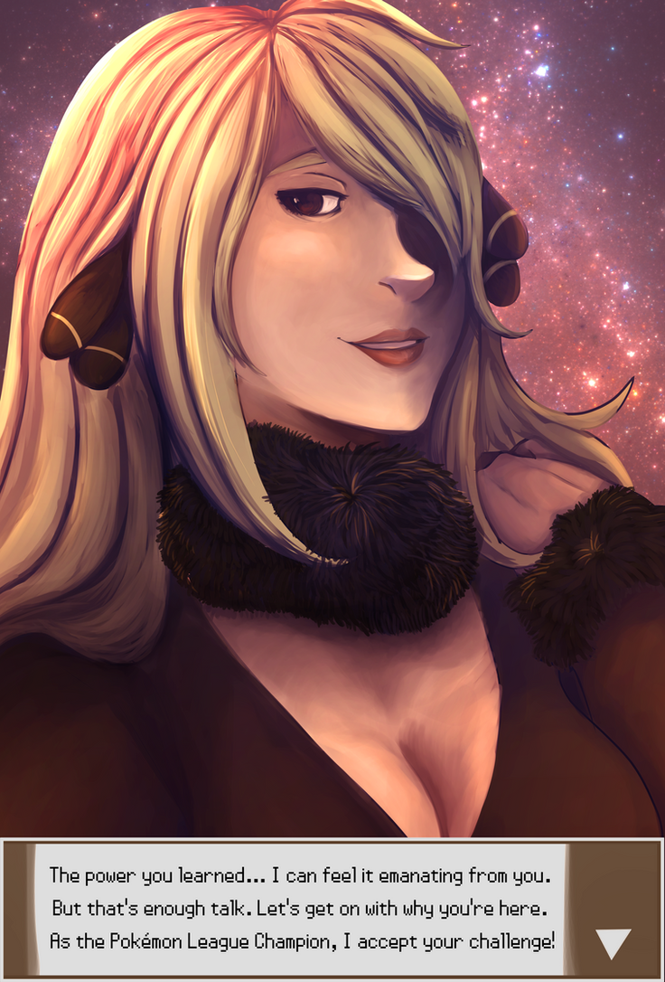 Cynthia by jelllybears