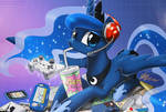 Gamer Luna - By: John Joseco