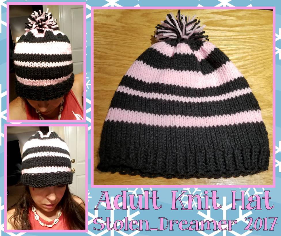 Custom Adult Knit Hat