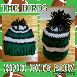 'The Birds' Newborn Hat