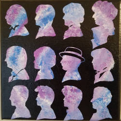 Art Gift:  Doctor Who Hot Mess Canvas