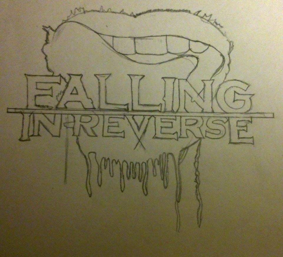 Falling In Reverse, Unfinished Band Logo by deviantamyxx ...