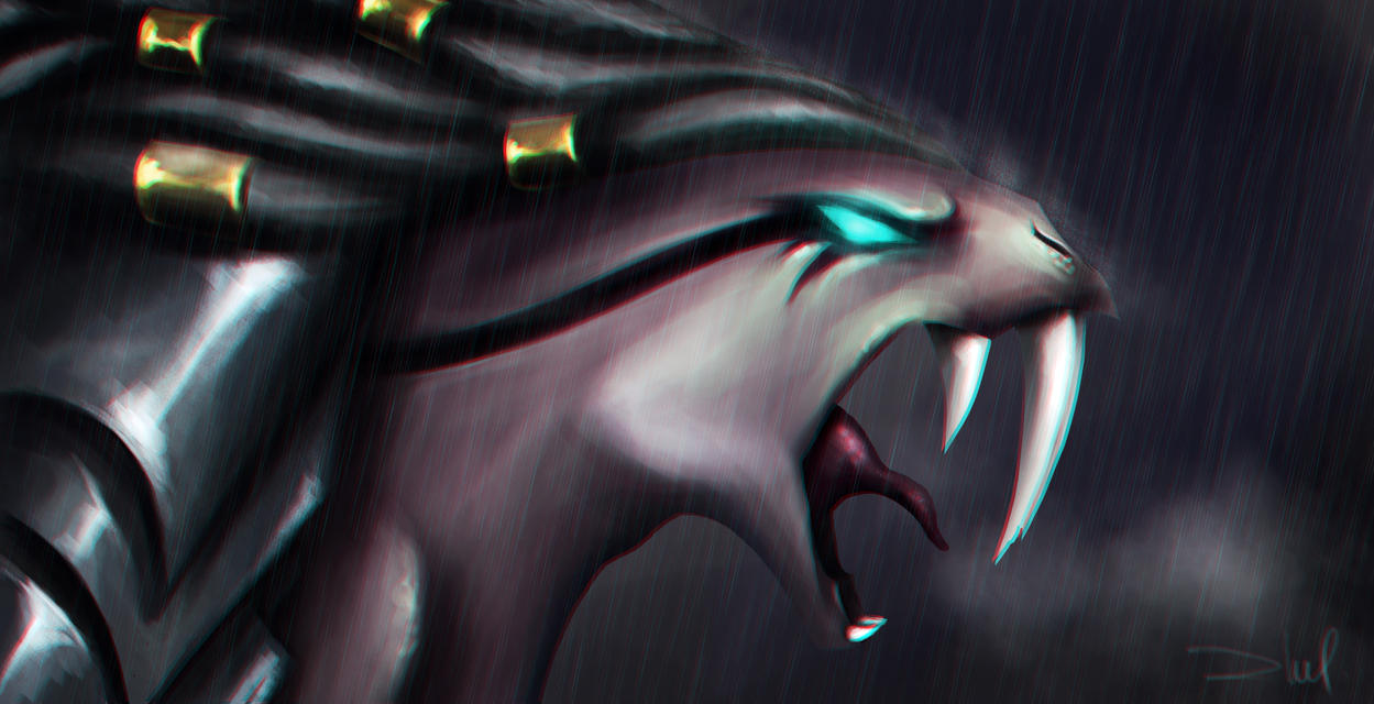 Headhunter Nidalee - The Bestial Huntress by zhulikova