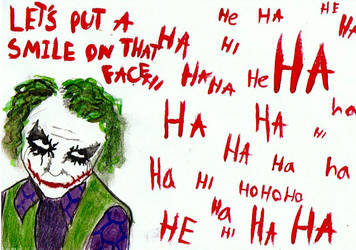 put a smile on that face by lovethejoker