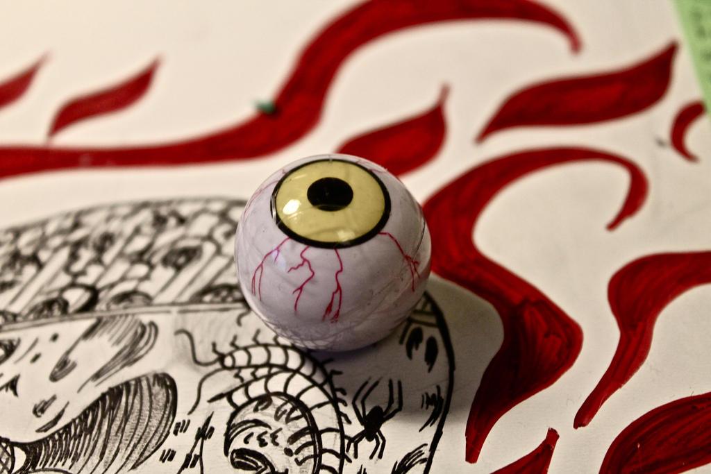 eyeball by lovethejoker