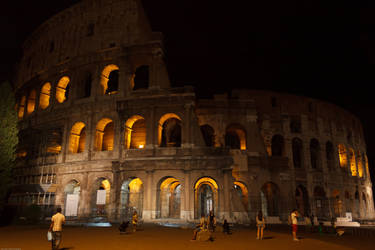 Colloseum at Night by WTS1989