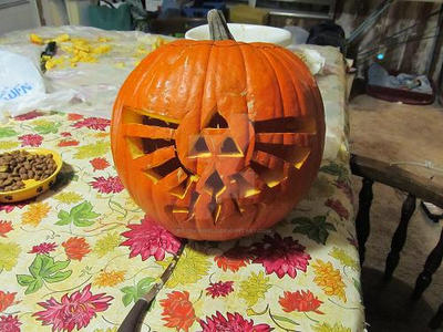 Hylian Jack-O-Lantern by Rozen-Shield
