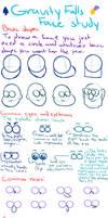 Gravity Falls - Face Study