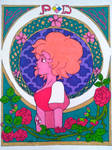 Pink Diamond Art Nouveau