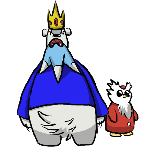 Beartic King And Delunther Pokemon
