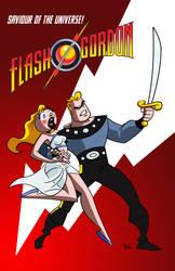 Flash-gordon by FLComics