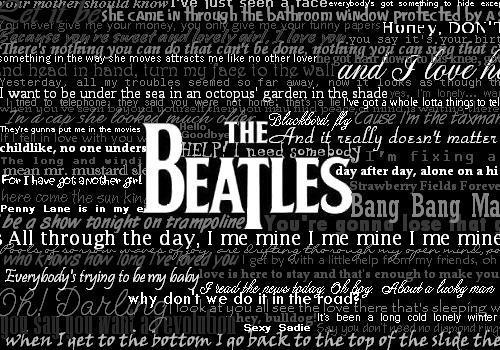 The Beatles by maxwellsilverhammer