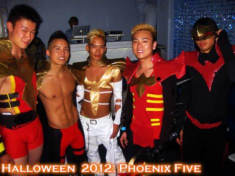 Phoenix Five Cosplay