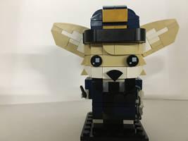 LEGO Brickheadz: Fennec Railfox!