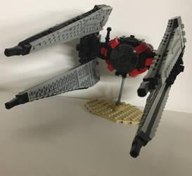 LEGO First Order TIE Interceptor by KieliIndustries