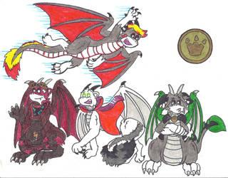 Dragon Club, Volume I by KieliIndustries