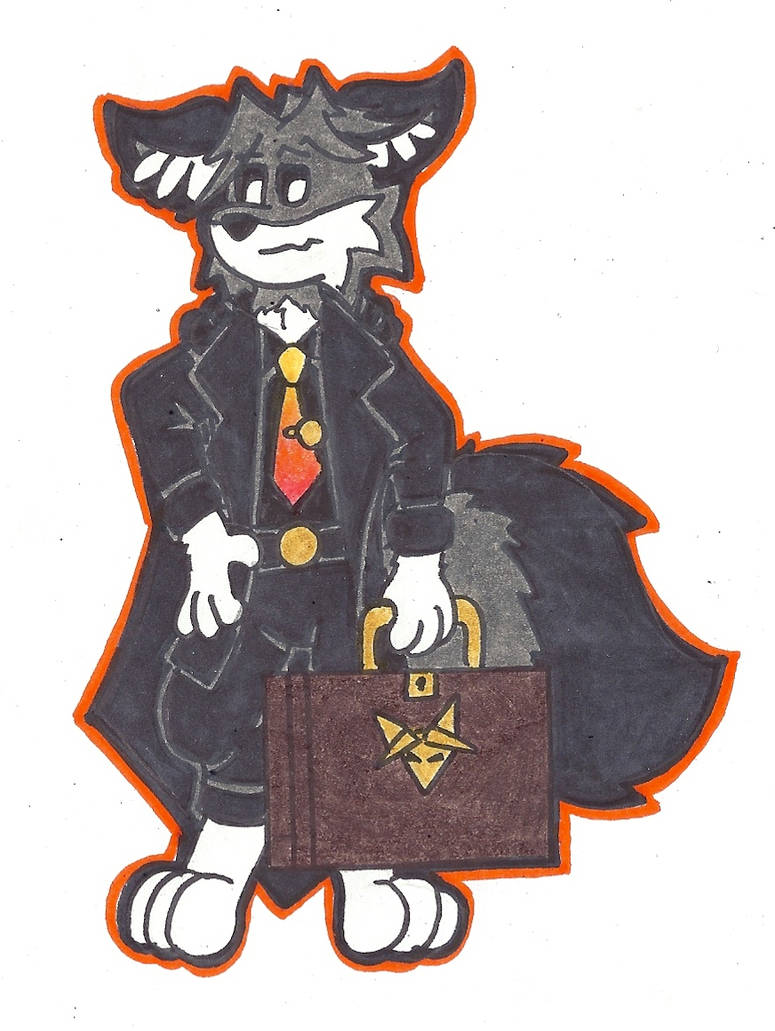 Business Fox by KieliIndustries
