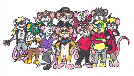 Mouse Group Picture